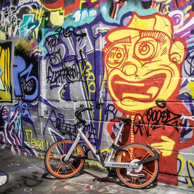 """Graffiti"" stock image"
