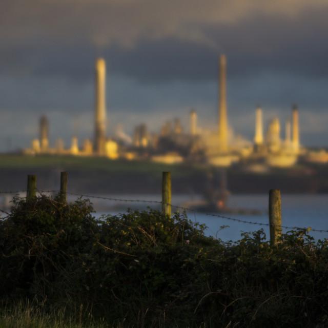 """""""Valero Refinery"""" stock image"""