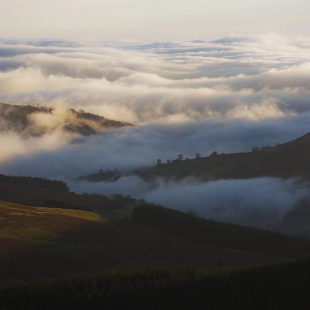 """valley mist"" stock image"