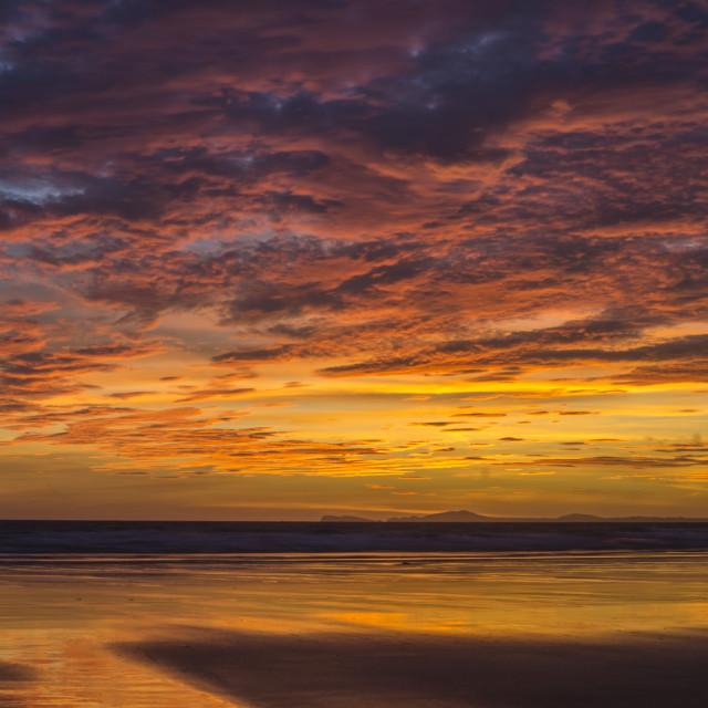 """rock sunset"" stock image"