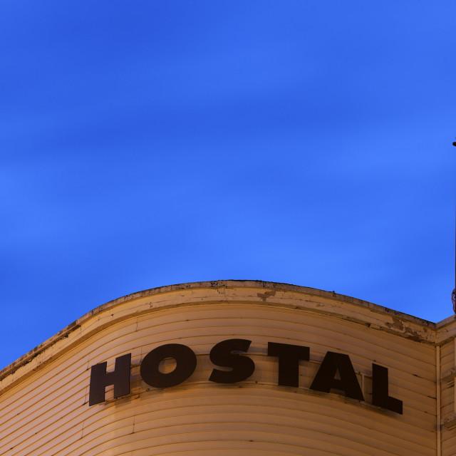 """Hostal"" stock image"