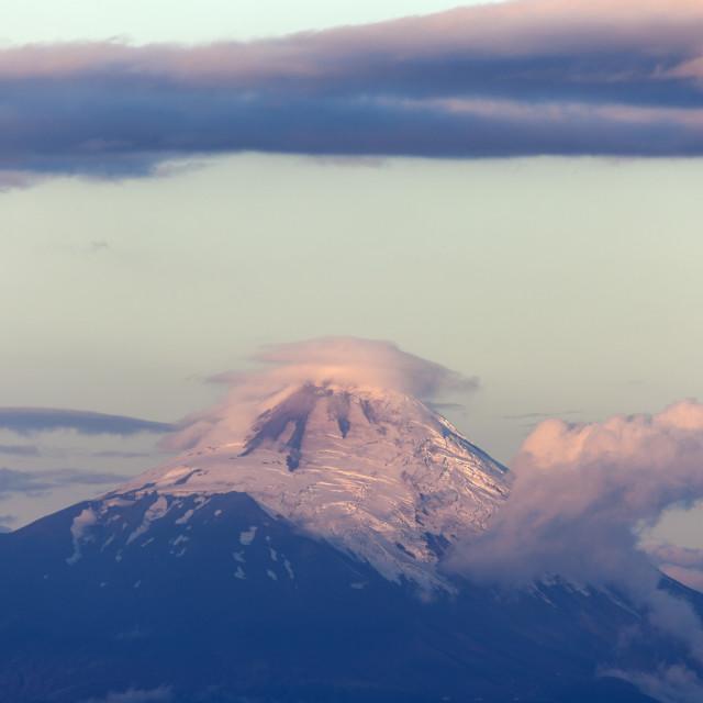 """""""Osorno Volcano"""" stock image"""