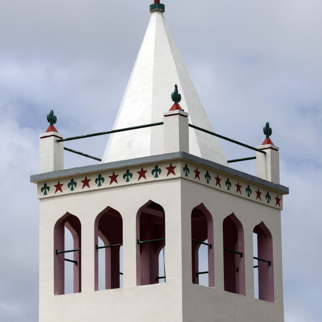 """Church tower - Tongatapu, Tonga"" stock image"