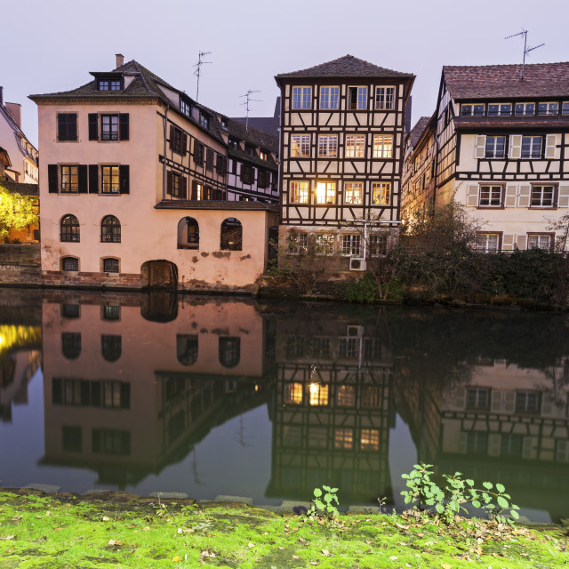 """Petite-France architecture"" stock image"