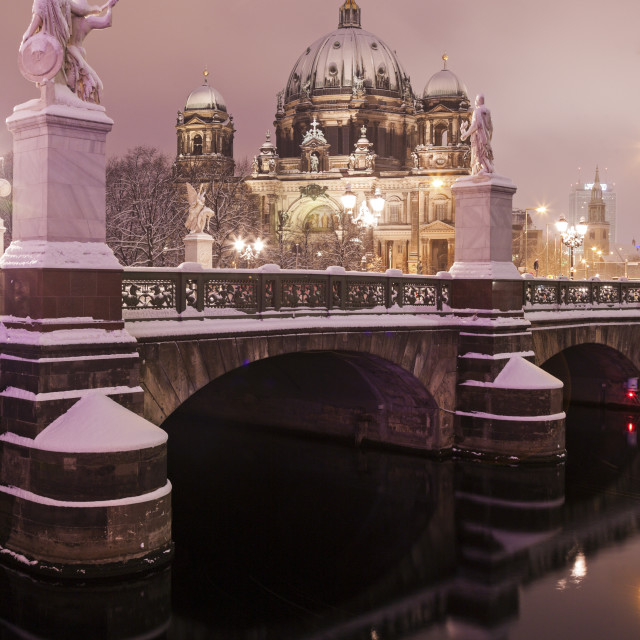 """""""Berlin Cathedral - Evangelical Supreme Parish and Collegiate Church. Berlin,..."""" stock image"""