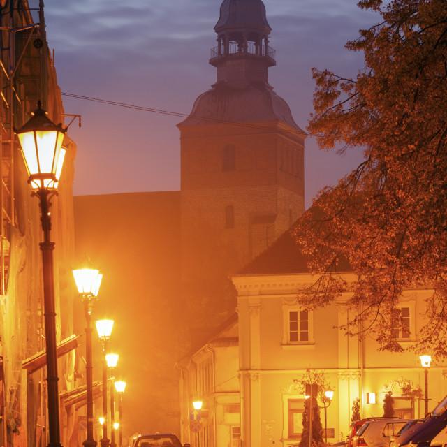 """St. Jacob Church in Piotrkow Trybunalski"" stock image"