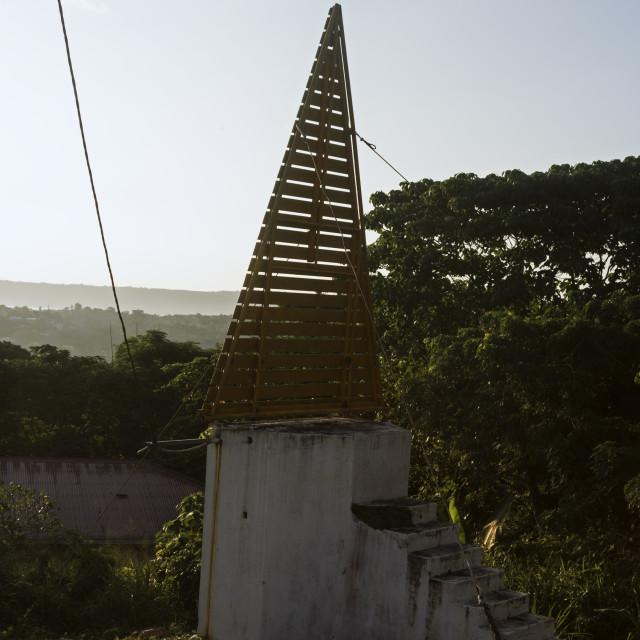 """Light station in Port Vila"" stock image"