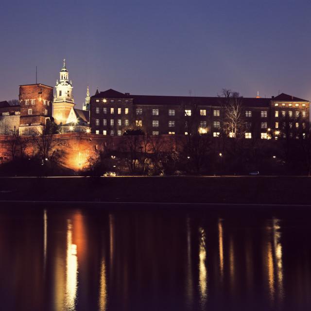 """""""Wawel Castle in Krakow"""" stock image"""