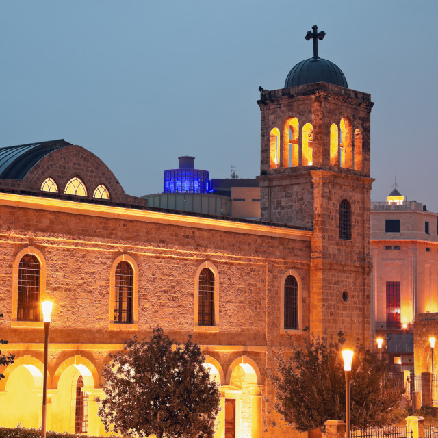 """""""Church in downtown of Beirut"""" stock image"""