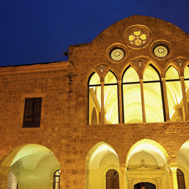 """""""Church in Beirut"""" stock image"""