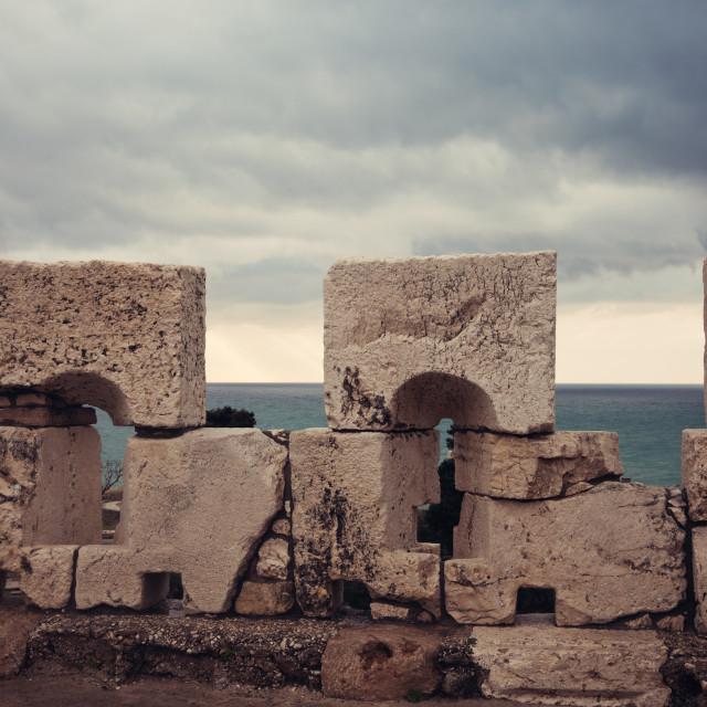 """Byblos castle"" stock image"