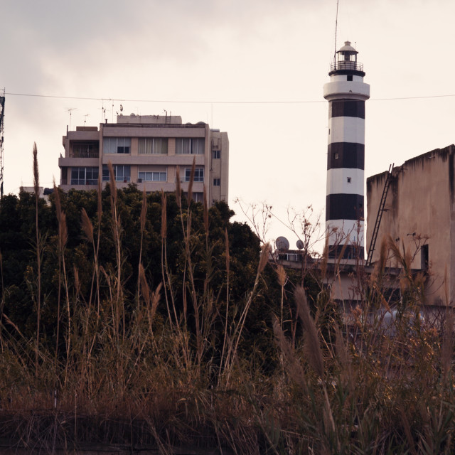 """""""Lighthouse in Beirut"""" stock image"""