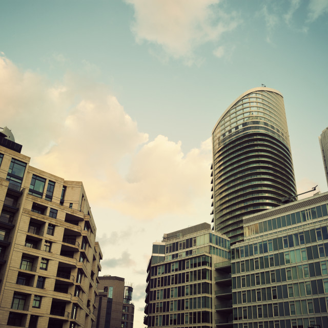 """""""Modern architecture of Beirut"""" stock image"""