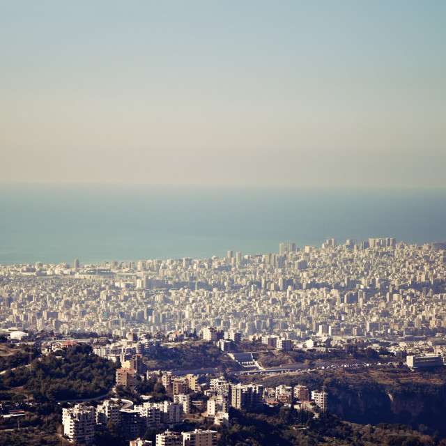 """""""Architecture of Beirut"""" stock image"""