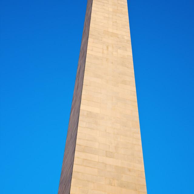 """Bunker Hill Monument"" stock image"