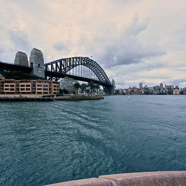 """Iconic Bridge"" stock image"
