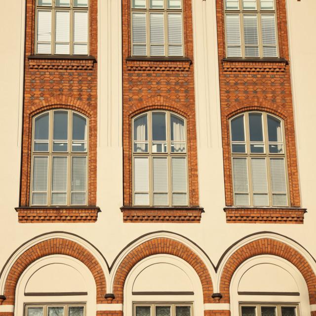 """""""Architecture of Helsinki"""" stock image"""