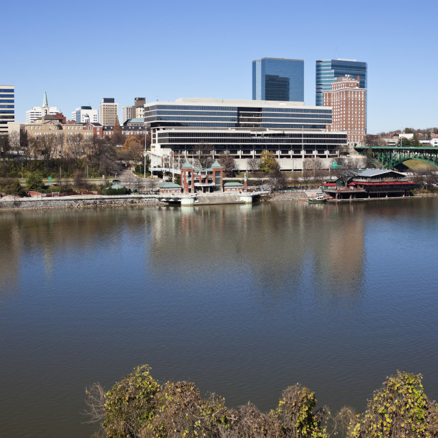 """Knoxville panorama"" stock image"
