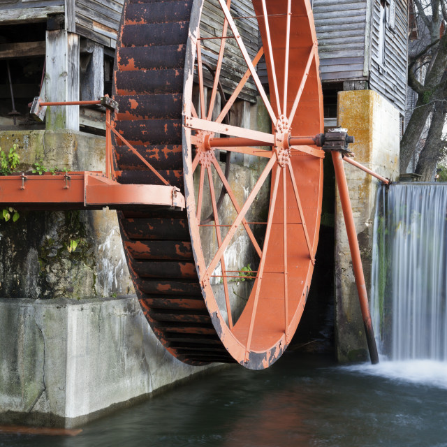 """Old Mill in Pigeon Forge"" stock image"