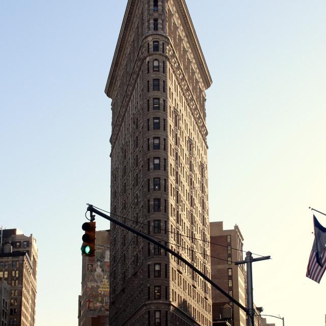 """Flat Iron Building, Manhattan"" stock image"