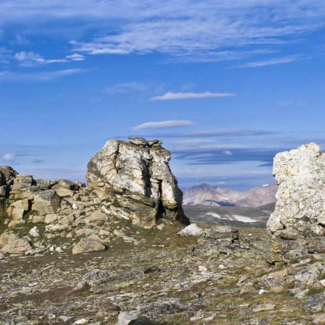 """Mushroom Rock in Colorado"" stock image"