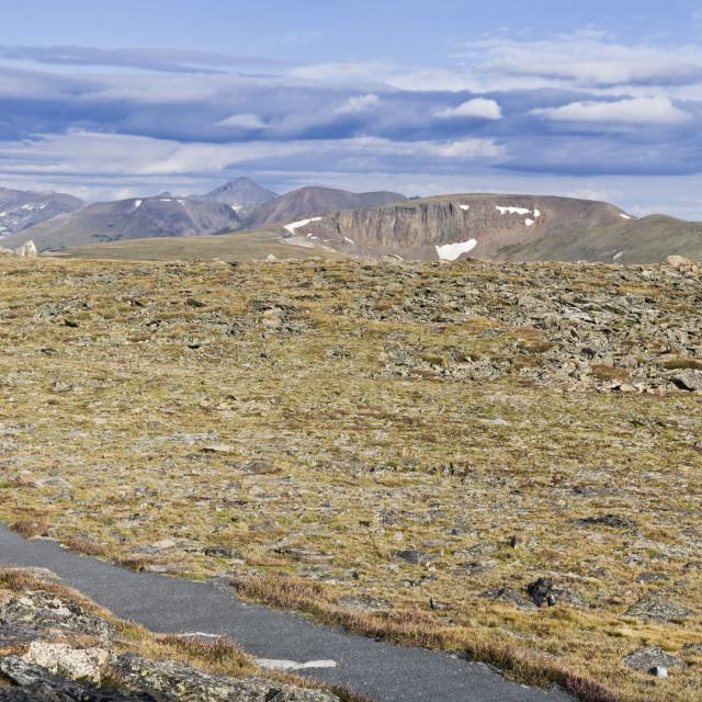 """Tundr Trail"" stock image"