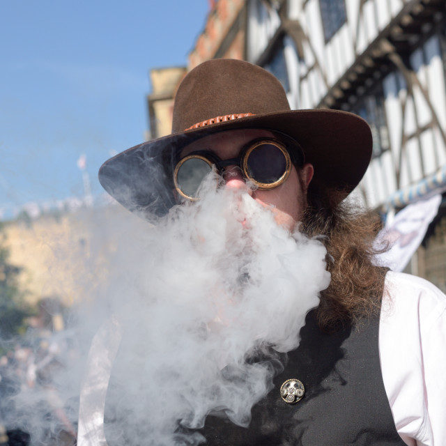 """Asylum Steampunk Festival In Lincoln,UK."" stock image"