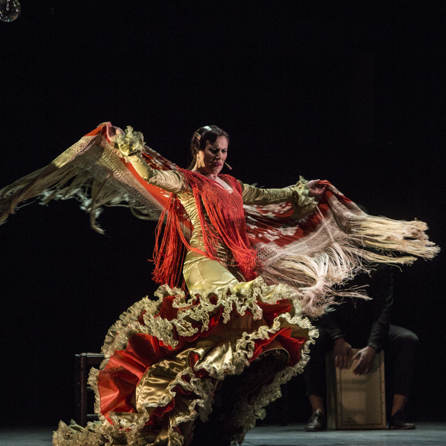 """Flamenco dance"" stock image"