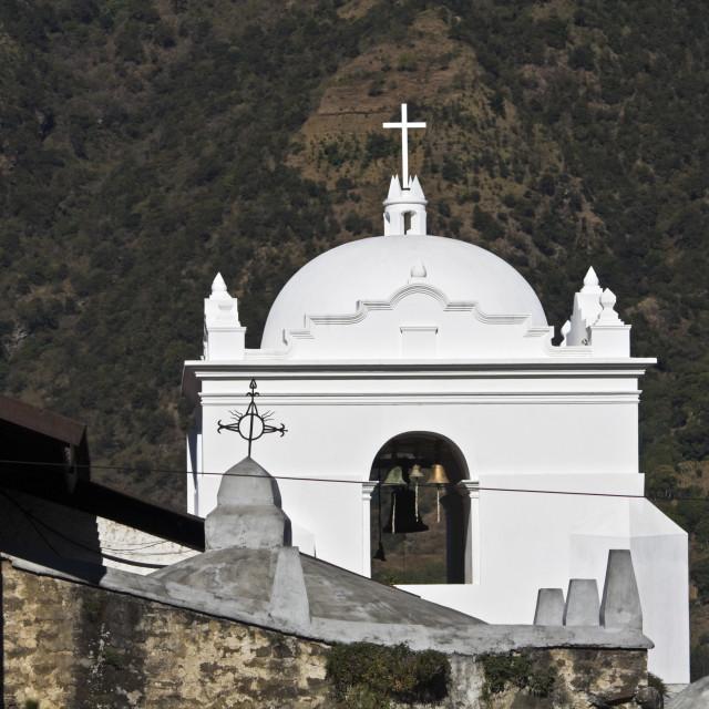 """Church in Santiago"" stock image"