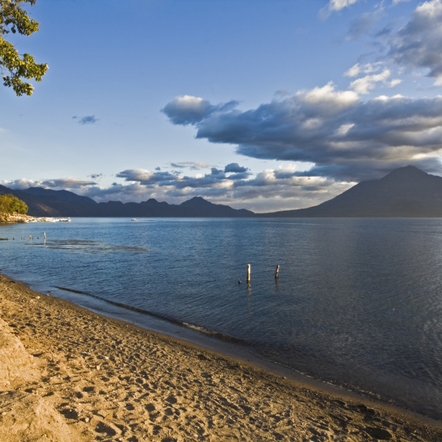"""Lago Attilan"" stock image"