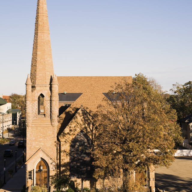 """Grace Lutheran Church"" stock image"
