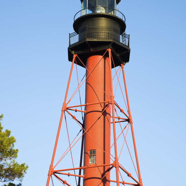 """""""Crooked River Lighthouse"""" stock image"""