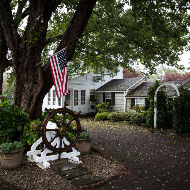 """""""Captains House, Chatham"""" stock image"""