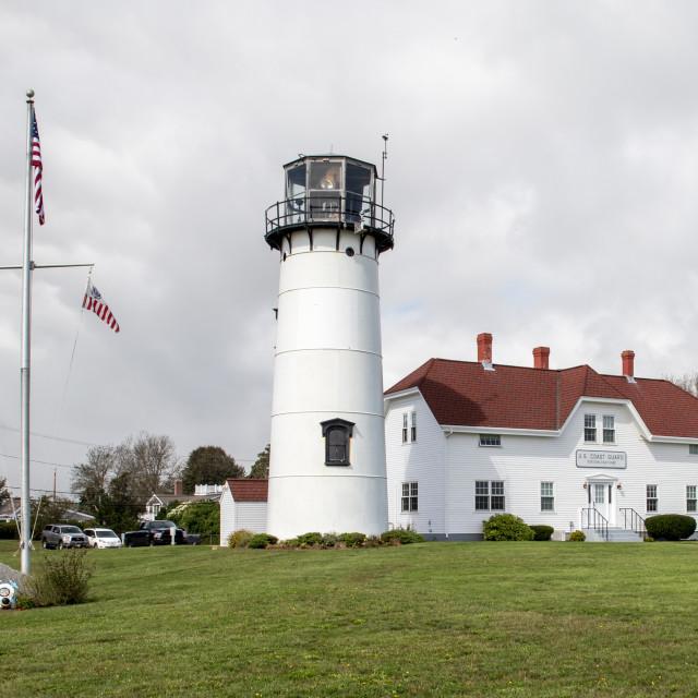 """""""Chatham Lighthouse"""" stock image"""