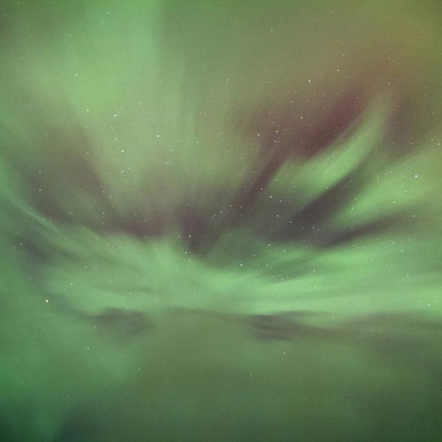 """Aurora Corona Display"" stock image"
