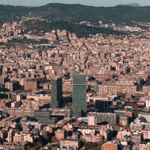 """buildings in barca"" stock image"