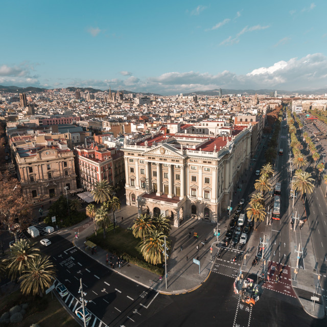 """barcelona views"" stock image"