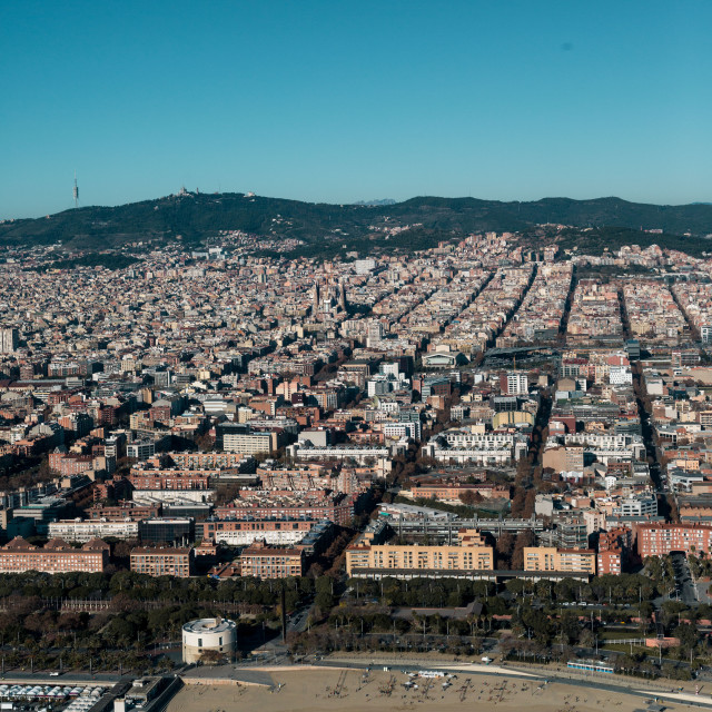 """looking into barcelona"" stock image"