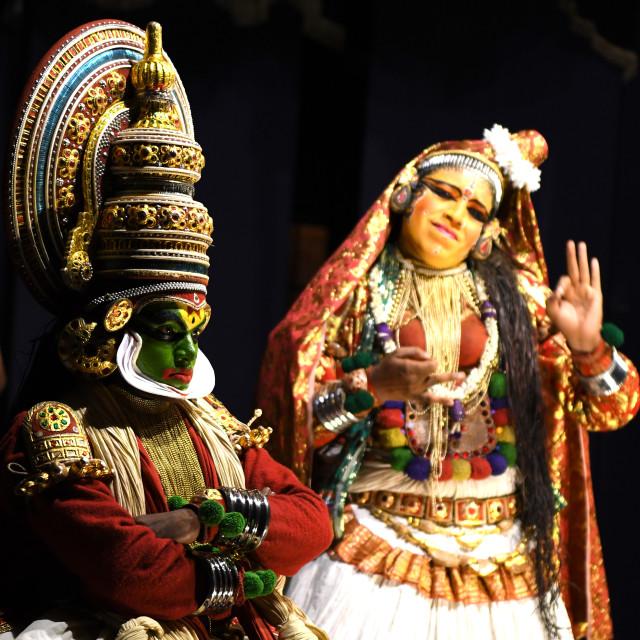 """Katakhali of Kerala"" stock image"
