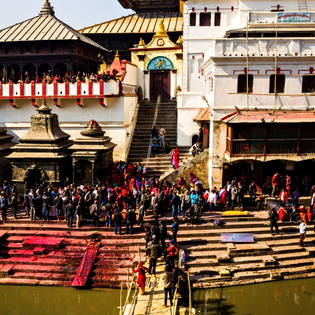 """Pashupatinath"" stock image"