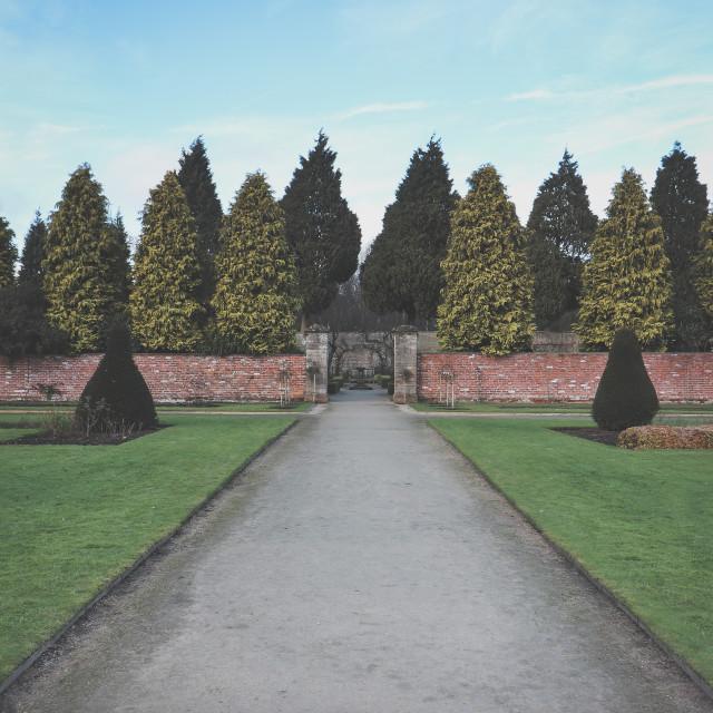 """Gardens Path"" stock image"