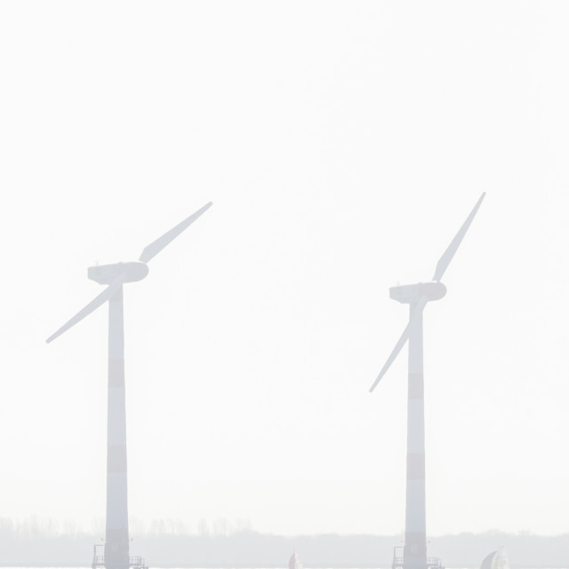 """Windturbines, Wind turbines"" stock image"