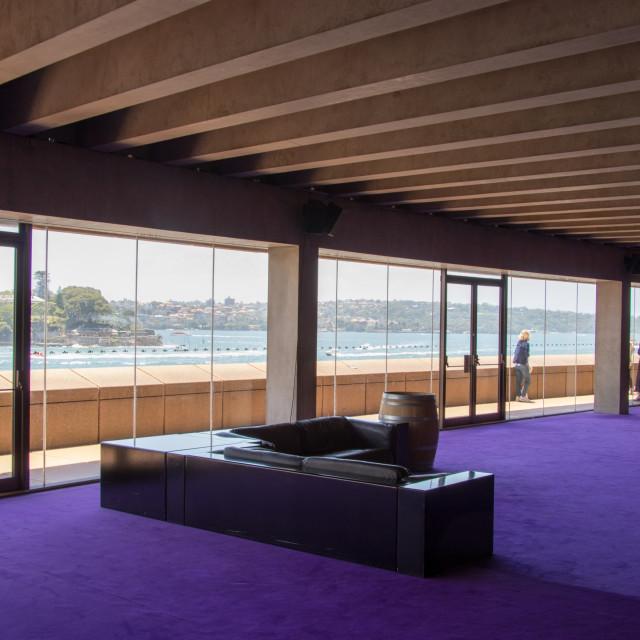 """Inside Sydney Opera House"" stock image"