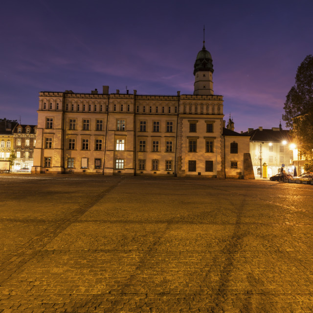 """Kazimierz old town hall in Krakow"" stock image"