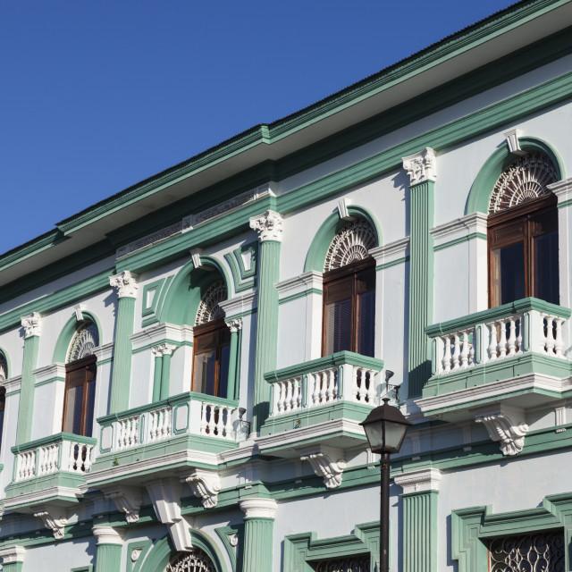 """""""Colonial architecture of Granada"""" stock image"""