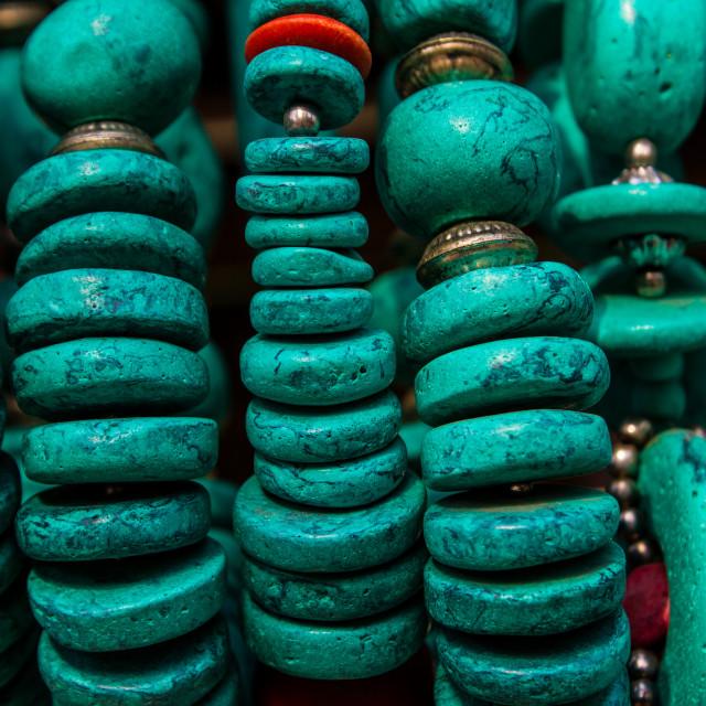 """Indian Folk Jewellery"" stock image"