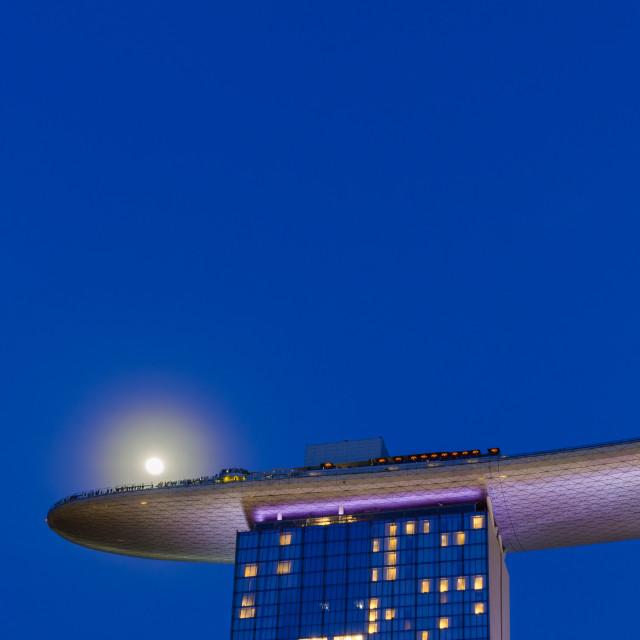 """Moon Hotel"" stock image"