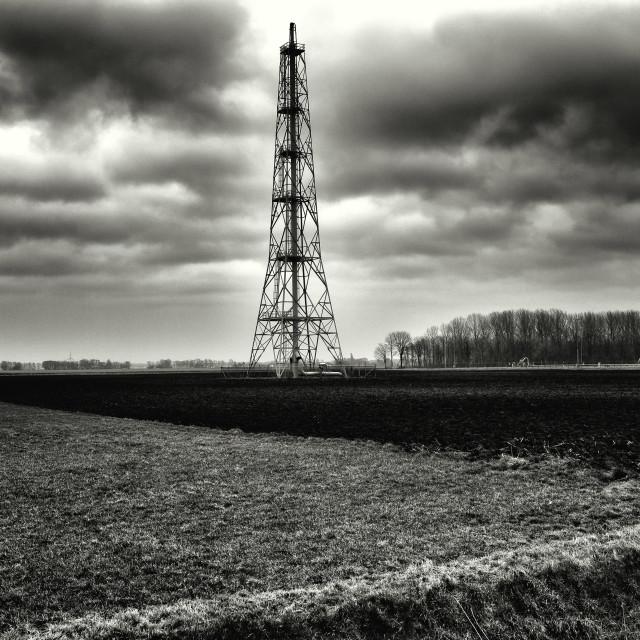 """Contemporary Landscape"" stock image"