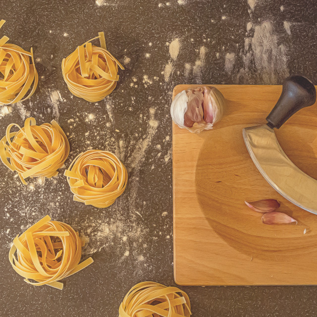 """Pasta."" stock image"