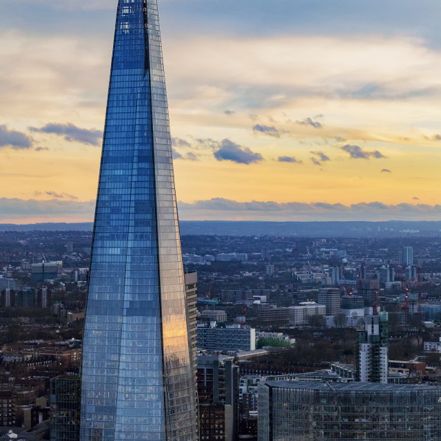 """Evening Shard"" stock image"